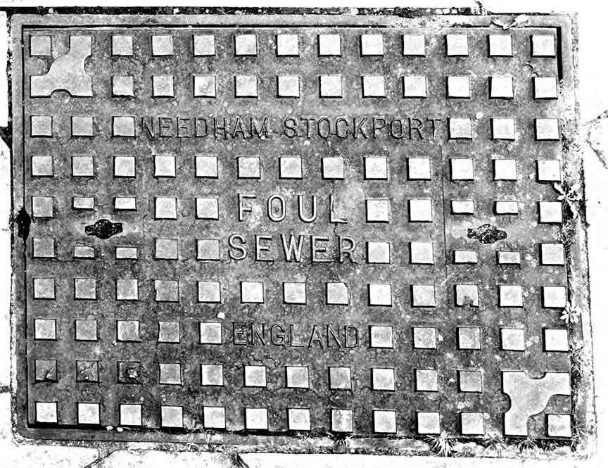 foul sewer cover